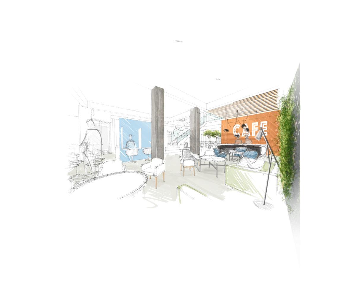 Galliéni Coworking espace café
